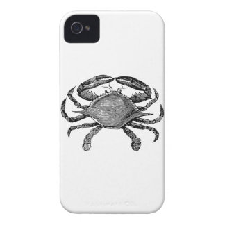 Feeling Crabby Black iPhone 4 Covers