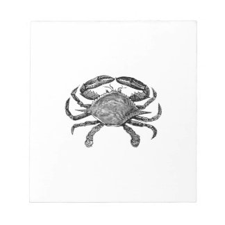 Feeling Crabby Black Notepad