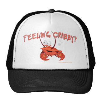 feeling crabby.png trucker hat