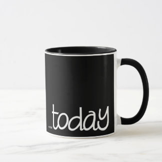 Feeling Fragile Black Mug