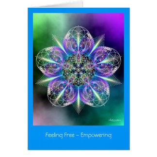 Feeling Free - Empowering Card