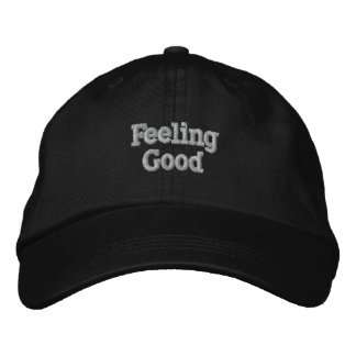 Feeling Good Cap Embroidered Hats