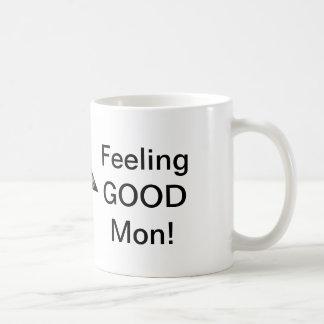 Feeling GOOD Mon! Basic White Mug