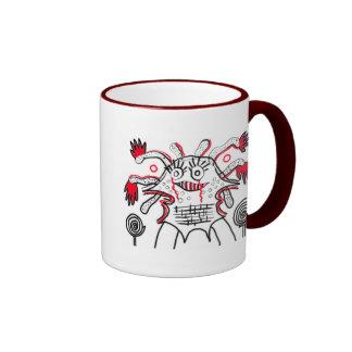 Feeling good ringer coffee mug