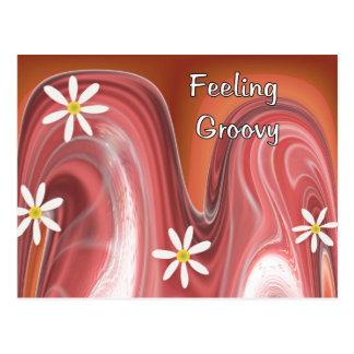 Feeling Groovy Postcard