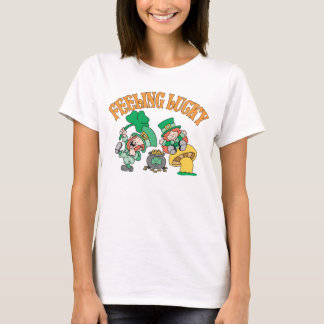 Feeling Lucky Happy Leprechauns T-Shirt
