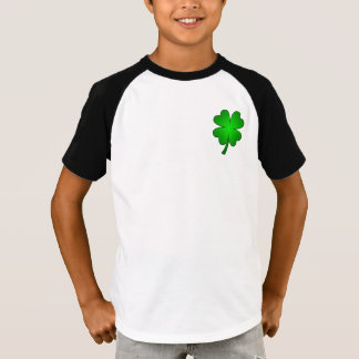 Feeling Lucky Kids Raglan T-shirt