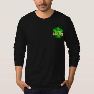 Feeling Lucky Men's dark Long Sleeve T-Shirt