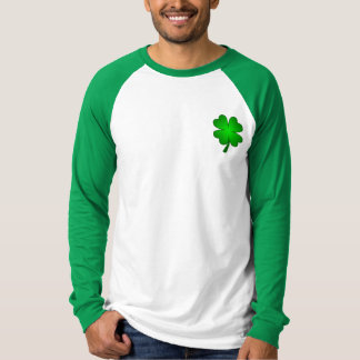 Feeling Lucky Men's Long Sleeve Raglan T-Shirt