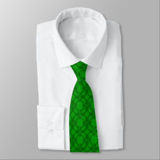 Feeling Lucky shamrock Tie