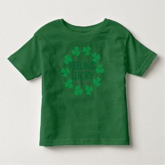 Feeling Lucky Shamrocks Kids T-shirt