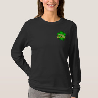 Feeling Lucky Women's dark long sleeve T-shirt