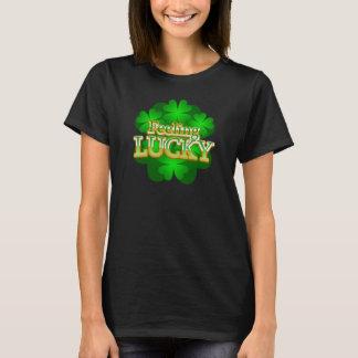 Feeling Lucky Women's dark T-shirt