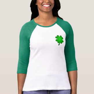 Feeling Lucky Women's long sleeve Raglan T-Shirt