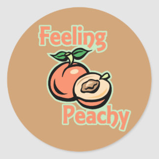 Feeling Peachy Stickers