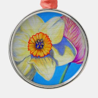 Feeling Springy Metal Ornament