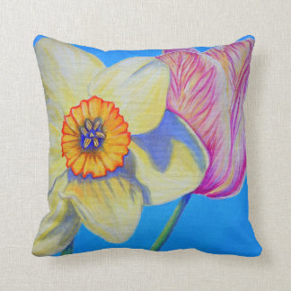 Feeling Springy Throw Pillow