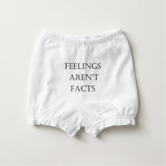 Feelings Aren't Facts Diaper Cover