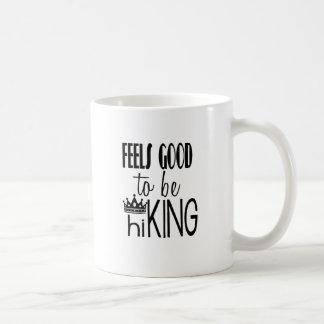 Feels Good to be hiKING Basic White Mug