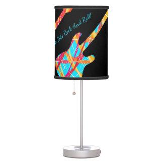 Feels Like Rock And Roll - Electric Guitars Lamp