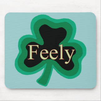 Feely Family Name Mousepads