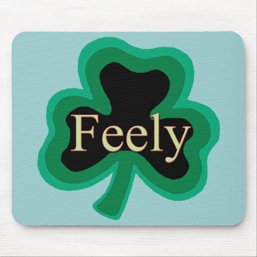 Feely Family Name Mousepads
