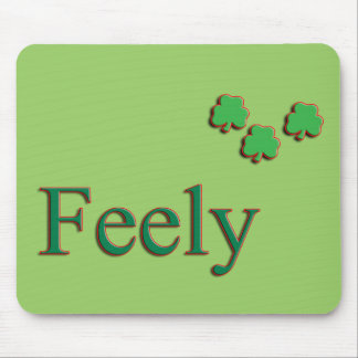 Feely Family Name Mouse Pads