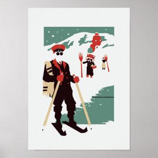 Féerie urbaine - voyage d hiver posters