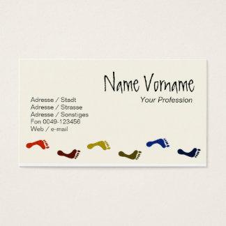 Feet Business Card