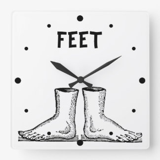 Feet Square Wall Clock
