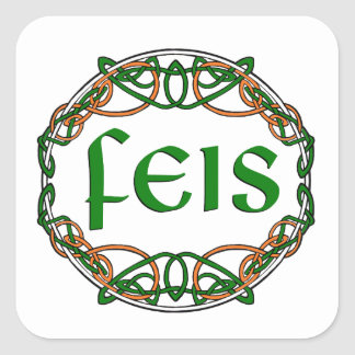 FEIS SQUARE STICKER