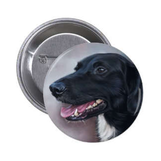 Feist Labrador 2 Inch Round Button