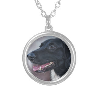 Feist Labrador Silver Plated Necklace