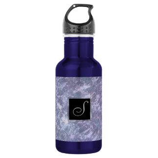 Feisty Bar | Monogram Lavender Purple Splatter | 532 Ml Water Bottle