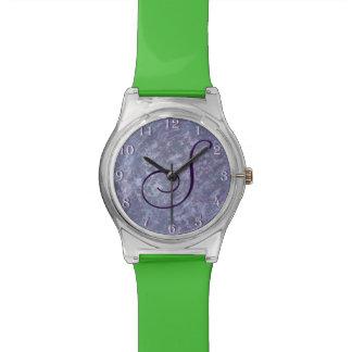 Feisty Bling | Custom Lavender Purple Splatter | Watch