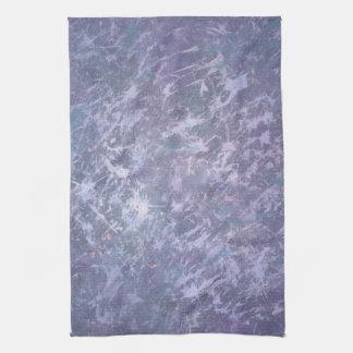 Feisty Kitchen   Lavender Lilac Purple Splatter   Kitchen Towel