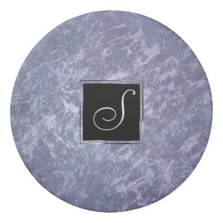 Feisty Office   Monogram Lavender Lilac Purple   Eraser