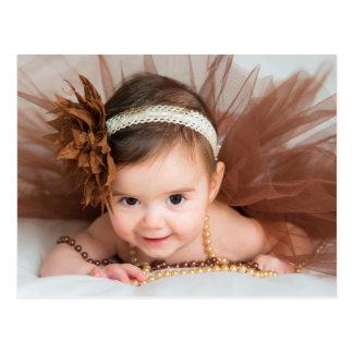 Félicitations de bébé carte postale