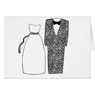 Félicitations de mariages carte de vœux