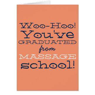 Félicitations drôles d'obtention du diplôme carte de vœux