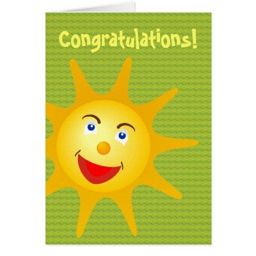 Félicitations !  - Modèle de carte