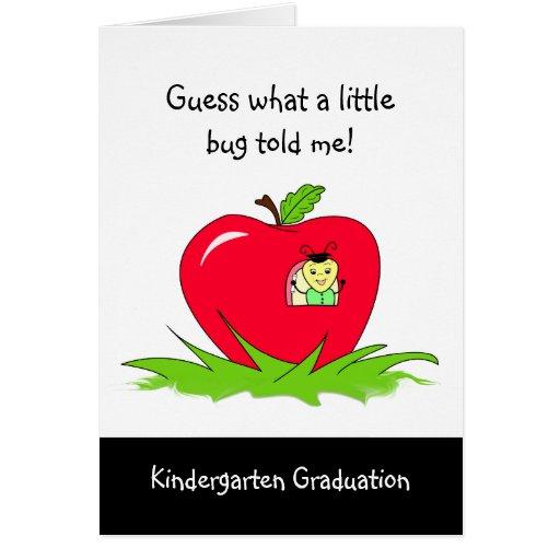 Félicitations rouges licenciées d'Apple de jardin  Carte De Vœux