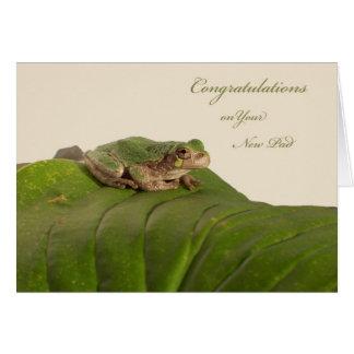 Félicitations sur la nouveau maison, appartement,  carte