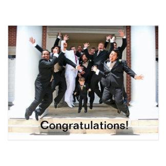 Félicitations sur votre mariage cartes postales