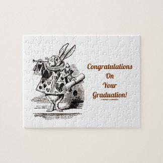 Félicitations sur votre obtention du diplôme La Puzzles Avec Photo