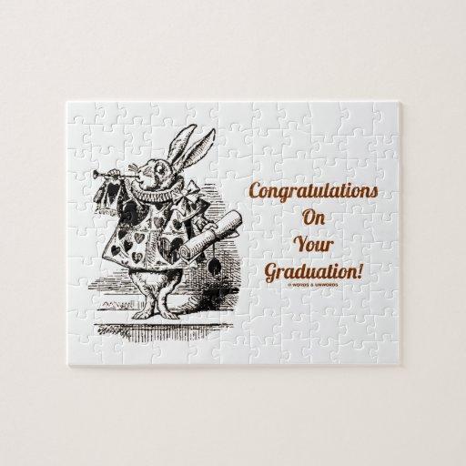 Félicitations sur votre obtention du diplôme ! (La Puzzles Avec Photo