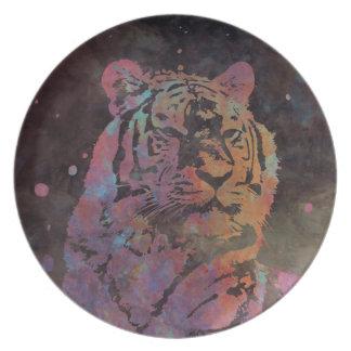 Felidae Party Plate