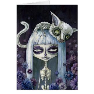 Felina de los muertos note card