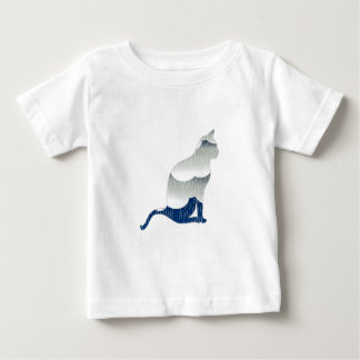 Feline Bliss Baby T-Shirt