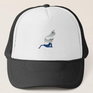 Feline Bliss Trucker Hat